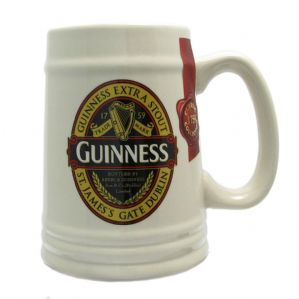 Guinness Limited Edition Ceramic Tankard 1759 Ruby Red Classics Collection 5610